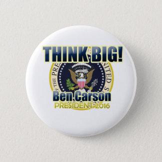 Dr. Ben Carson för president Standard Knapp Rund 5.7 Cm
