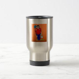 Dr. Mortose Befalla Guppa skyddslingtravel mug Resemugg