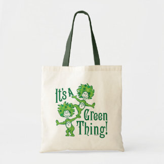 Dr. Seuss   är det en grön sak! Tygkasse