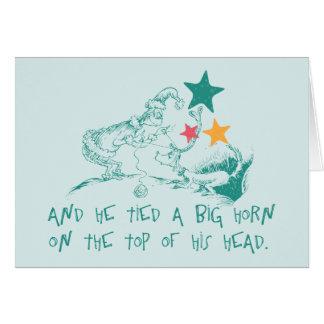 Dr. Seuss   Grinchen och max Hälsningskort