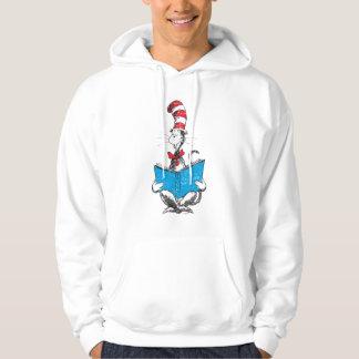 Dr. Seuss | katten i hatten - läsning Tröja Med Luva