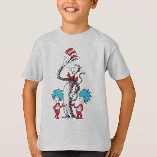 Dr. Seuss | katten i hatten, saken 1 & saken 2 Tee Shirt