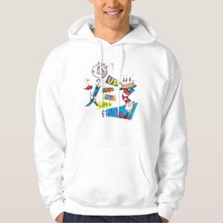 Dr. Seuss | upp upp upp med en fisk Sweatshirt Med Luva