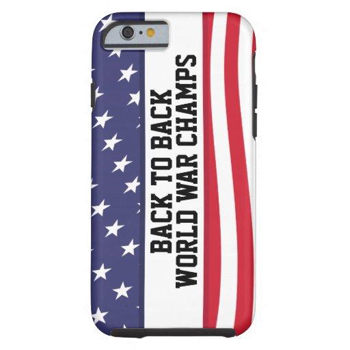 Dra tillbaka för att dra tillbaka fodral för tough iPhone 6 case