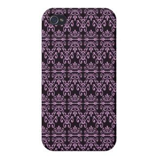 Dra tillbaka i rosa och svart iPhone 4 cover