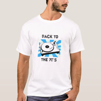 Dra tillbaka till 70-tal t-shirts
