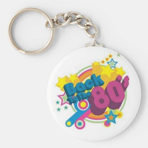 Dra tillbaka till 80-tal nyckel ring