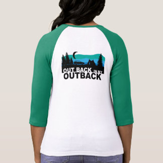 Dra tillbaka ut i mitt Outback Tshirts
