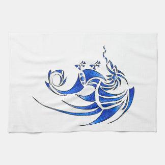Dragissous V1 - blåttdrake Kökshandduk