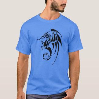 Dragissous V1 - svart drake T-shirt
