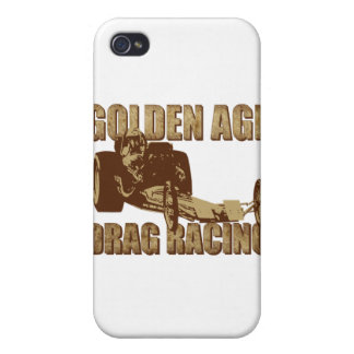 dragster för grävare för guldålderfriktion tävling iPhone 4 hud