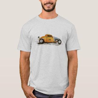 Dragster tävlingbil, saltar lägenhetraceren t shirts