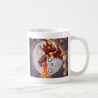 Drakeflipperspel Kaffemugg