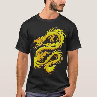 Draken driver den svart T-skjortan Tee Shirt