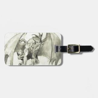 Draken - rita skissar bagagebricka