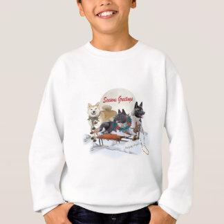 Dräkt för Akita säsonghälsning Tee Shirt