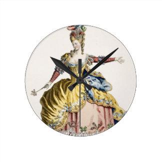 Dräkt för drottningen av sylphsna i baletten rund klocka