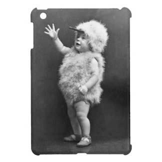 Dräkt för påsk för flicka för vintagehönakostym iPad mini skydd