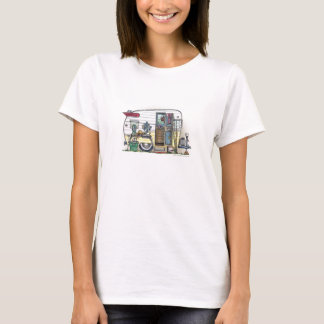 Dräkt för RV för Shasta camparesläp T-shirt