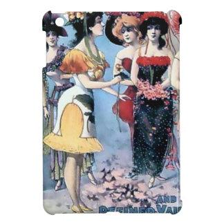 Dräkter för vintageaktörkvinnor iPad mini mobil skydd