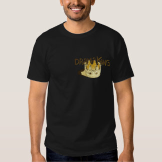 Dramakung för mörka skjortor tee shirt