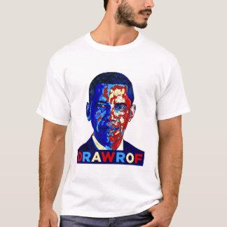 DRAWOF vänd om Barack Obama propagandaT-tröja T Shirts