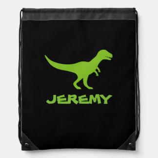 Drawstringen för den TyrannosaurusRex dinosauren Gympapåse