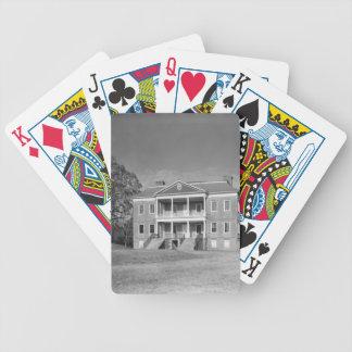 Drayton Hall koloni, Charleston SC-kort Spelkort