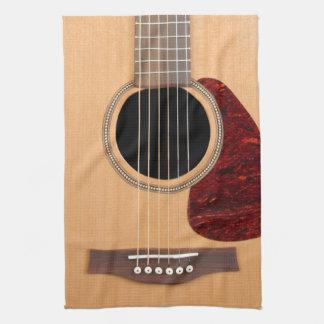 Dreadnought akustisk sex stränger gitarren handuk