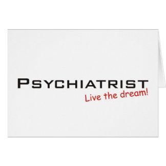 Dream_Psychiatrist_3kx1kDream/psykiater Hälsningskort