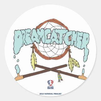 Dreamcatcher Runt Klistermärke