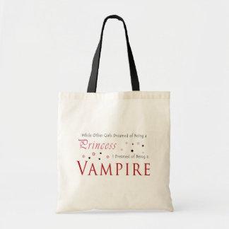 Dreamed av att vara en vampyr budget tygkasse