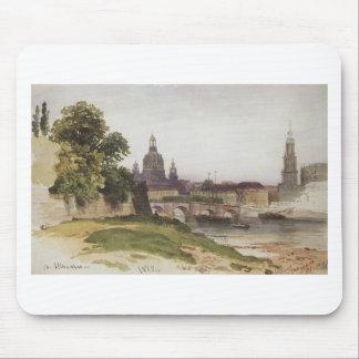 Dresden. Överbrygga av Augusti av Ivan Shishkin Musmatta