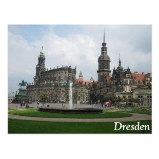 Dresden Tyskland Vykort