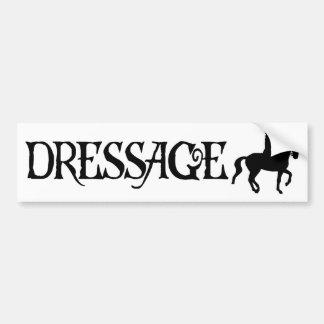 Dressage (piratstiltext med Piaffe)) Bildekal