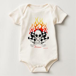 Drev! - Skalle och korsade ben Bodies För Bebisar