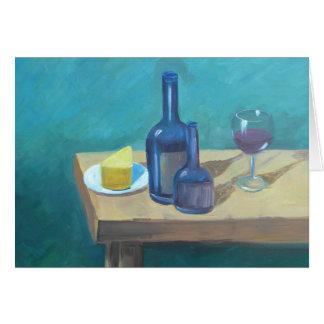 Dricka ensam III Hälsningskort