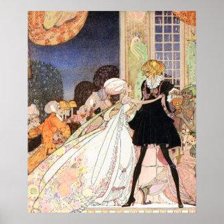 Dricka inte! Art nouveau av Kay Nielsen Poster