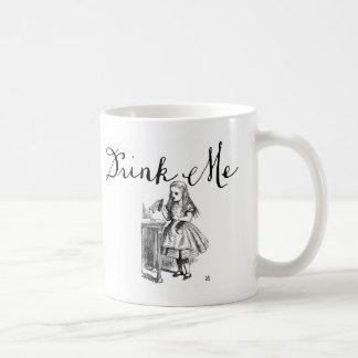 Dricka mig Alice i underlandmugg Kaffemugg