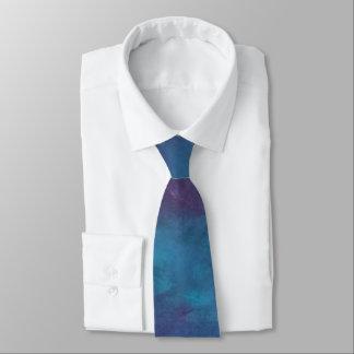 Driftig för blåttlilor för mode   Ombre turkos Slips