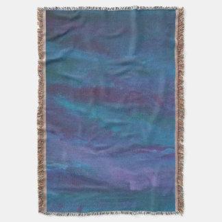 Driftig mörk för dekor   - slösa purpurfärgad filt