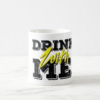 Drink med mig kaffemugg