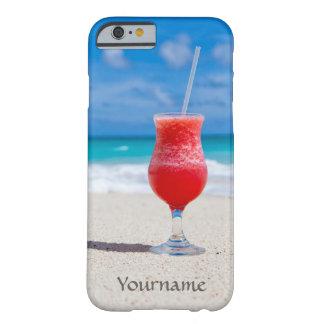 Drink på strandanpassningsbarcases barely there iPhone 6 fodral