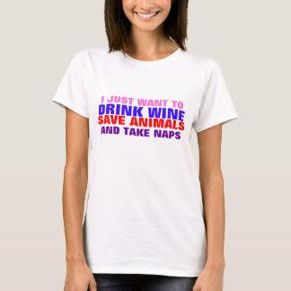 DRINKVIN, SPARADJUR, TAKE TA SIG EN TUPPLUR TEE SHIRTS
