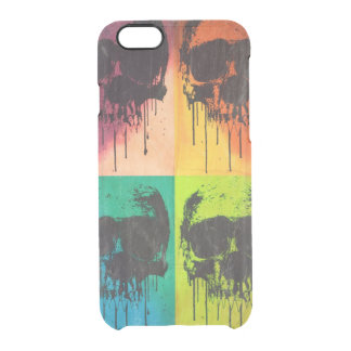 DrippingSkull POPART Clear iPhone 6/6S Skal