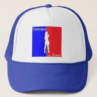 Dristig och beväpnad hatt keps