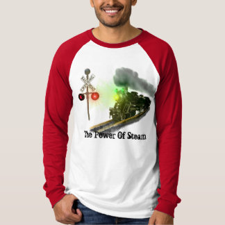 Driva av en ångalokomotiv t shirt