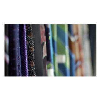 Driva slipsvisitkorten set av standard visitkort