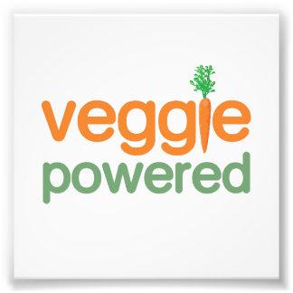 Driven vegetarian för Veggie grönsak Fototryck