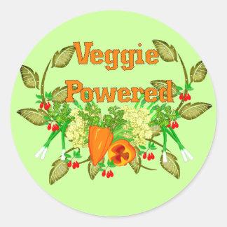 Driven Veggie Runt Klistermärke